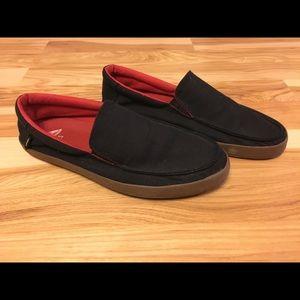 Men's Vans Bali slip ons black size 9.5